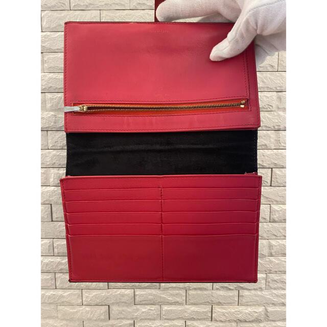 celine(セリーヌ)のCELINE セリーヌ ラージストラップ マルチファンクション レザー  旧ロゴ レディースのファッション小物(財布)の商品写真