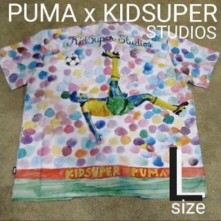 プーマ(PUMA)の新品❤半額以下 sale PUMA 未使用 タグ付き オーバーサイズ L (シャツ)