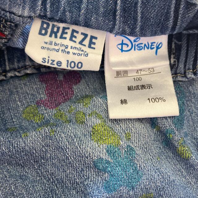 BREEZE(ブリーズ)のBREEZE 半ズボン100cm  Disney キッズ/ベビー/マタニティのキッズ服男の子用(90cm~)(パンツ/スパッツ)の商品写真