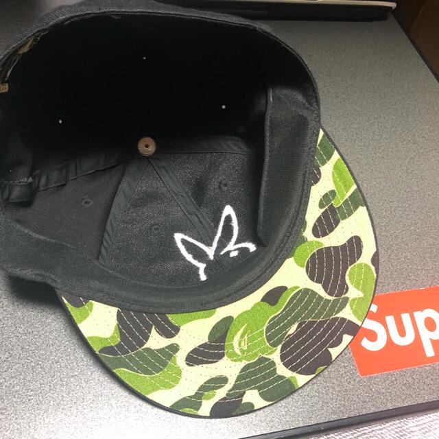 A BATHING APE(アベイシングエイプ)の超激レア プレイボーイ アベイシングエイプ キャップ メンズの帽子(キャップ)の商品写真