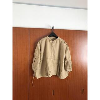 ネストローブ(nest Robe)のnest Robe リネン 2way パフスリーブ ブラウス シャツ(シャツ/ブラウス(長袖/七分))