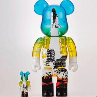 MEDICOM TOY - BE@RBRICK NASA SPACE SHUTTLE LAUNCH