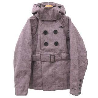 ザノースフェイス(THE NORTH FACE)のザノースフェイス 子供服 スキー ジャケット ツイード S/P ピンク(ウエア)