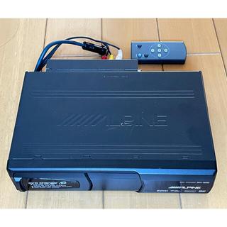 アルパイン DHA-S690 6連奏 DVDチェンジャー CD DVD リモコン(カーオーディオ)
