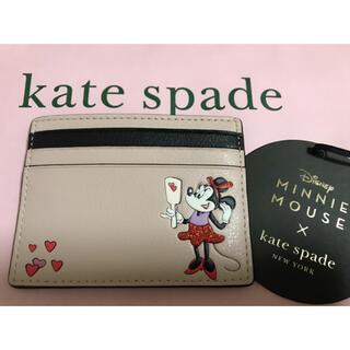 kate spade new york - (完売品)ディズニー x ケイトスペード ミニー カードケース