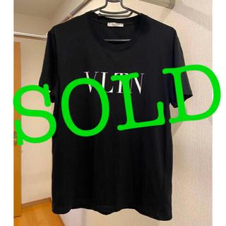 ヴァレンティノ(VALENTINO)のヴァレンティノ VALENTINO VLTN ロゴ Tシャツ メンズサイズS(Tシャツ/カットソー(半袖/袖なし))