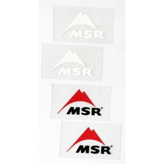 エムエスアール(MSR)のMSR 転写ステッカー S (レッド、ホワイト 各2) 4枚セット(その他)