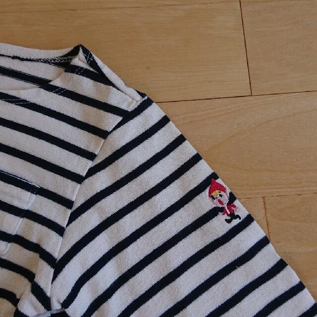 SEVENDAYS=SUNDAY(セブンデイズサンデイ)のカットソー 110 キッズ/ベビー/マタニティのキッズ服男の子用(90cm~)(Tシャツ/カットソー)の商品写真