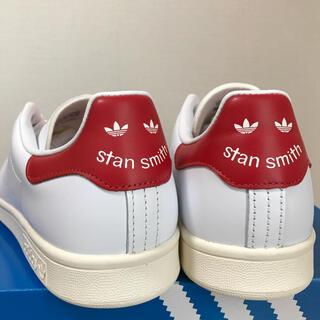 adidas - スタンスミス adidas 27cm スマイル レッド 赤 新品