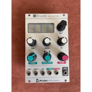 Mutable instruments BRAIDS + 2hp seq(音源モジュール)