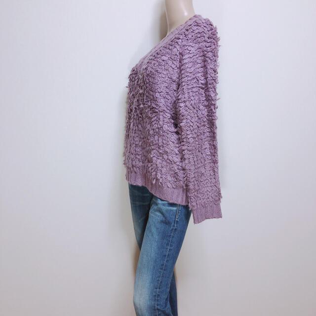 間違いなし♪アンドサーチ ふわふわループニット♡リエンダ ダチュラ レディースのトップス(ニット/セーター)の商品写真