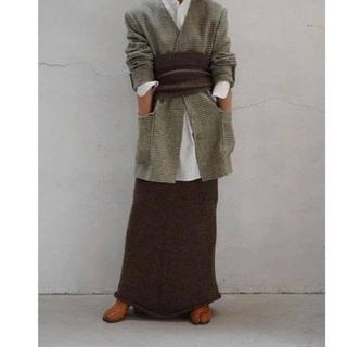 ジョンリンクス(jonnlynx)のfumika uchida ニットスカート(ロングスカート)