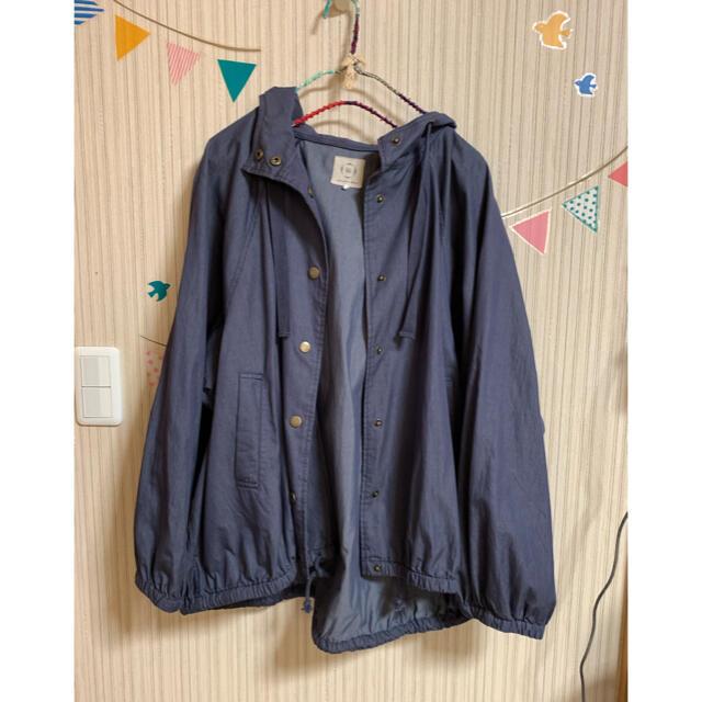 SM2(サマンサモスモス)のsm2✧︎*。フードボリュームブルゾン✧︎*。 レディースのジャケット/アウター(ナイロンジャケット)の商品写真