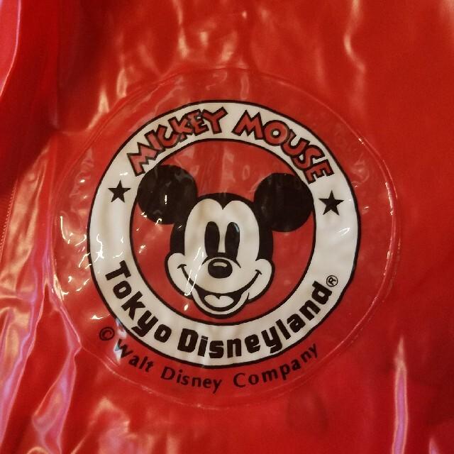 Disney(ディズニー)の初期 ミッキーマウス ポンチョ 赤 エンタメ/ホビーのおもちゃ/ぬいぐるみ(キャラクターグッズ)の商品写真