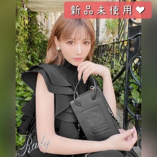 Rady - ブラック【新品】Rady 大人気最新作♡チェーンミニバッグ