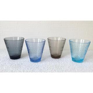 イッタラ(iittala)のイッタラ カステヘルミ グラス タンブラー 廃盤色込み(グラス/カップ)