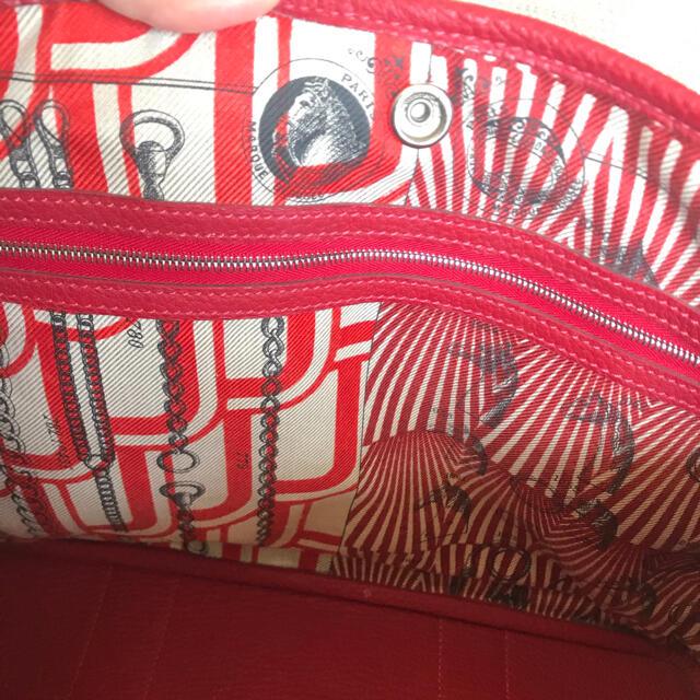 Hermes(エルメス)の綺麗品♥️正規品エルメス ガーデンパーティー PM  X刻印 レディースのバッグ(トートバッグ)の商品写真