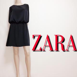 ZARA - きれいめ♪ザラ お呼ばれシフォンワンピース♡ラグナムーン ジェイダ