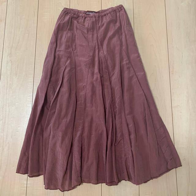 Ron Herman(ロンハーマン)のcp shades ロンハーマン別注 ブラウン xs レディースのスカート(ロングスカート)の商品写真