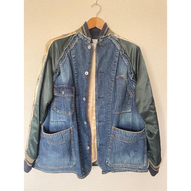 sacai(サカイ)のサカイ SACAI × ドクターウー Dr.woo 19SS 19-01895M メンズのジャケット/アウター(Gジャン/デニムジャケット)の商品写真