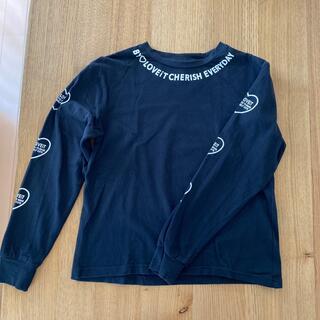 ナルミヤ インターナショナル(NARUMIYA INTERNATIONAL)のBY LOVEIT 長袖Tシャツ 150 黒(Tシャツ/カットソー)