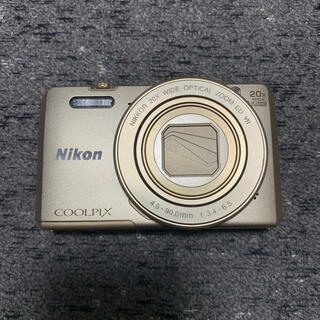 Nikon - Nikon COOLPIX Style COOLPIX S7000 GOLD