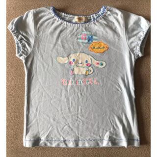 ハッシュアッシュ(HusHush)のTシャツ ポムポムリボン サンリオ ハッシュアッシュ 110センチ(その他)