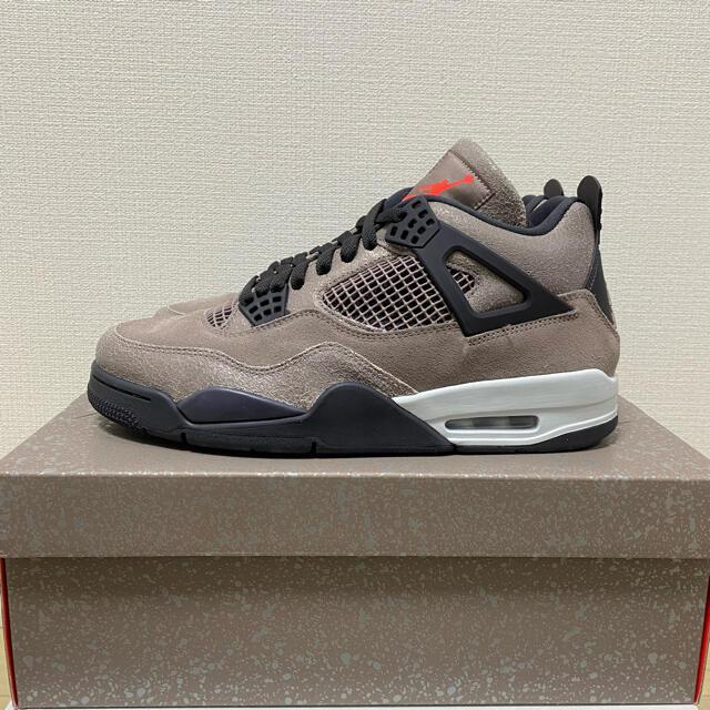 NIKE(ナイキ)の【28.0】Nike Air Jordan 4 Retro Taupe Haze メンズの靴/シューズ(スニーカー)の商品写真