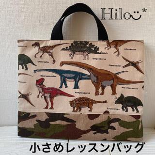小さめレッスンバッグ 恐竜&迷彩(バッグ/レッスンバッグ)