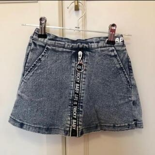 アナップキッズ(ANAP Kids)のanap kids デニムミニスカート デニムスカート スカパン  120(スカート)