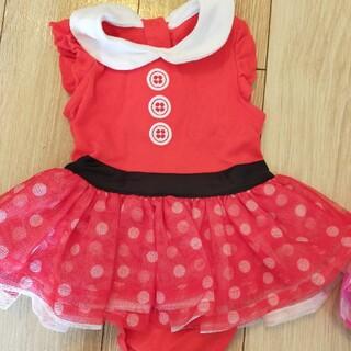ディズニー(Disney)の【GW値下げ中】ディズニーパリ ミニー赤ベビー服12M(衣装)