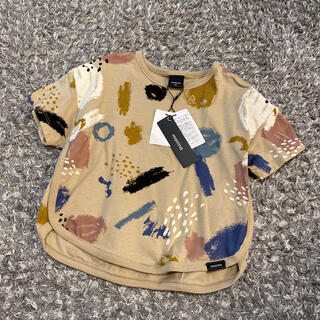 シマムラ(しまむら)の新品未使用 タグ付き manina マニーナ らくがきT バースデイ 90(Tシャツ/カットソー)