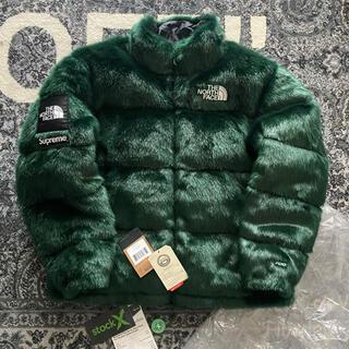 シュプリーム(Supreme)のsupreme × tnf faux fur nuptse jacket(ダウンジャケット)