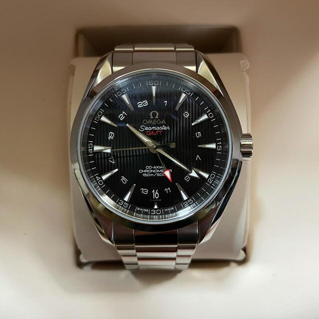 OMEGA(オメガ)のOMEGA アクアテラ コーアクシャル クロノメーター GMT 43mm メンズの時計(腕時計(アナログ))の商品写真