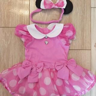 ディズニー(Disney)の【GW値下げ中】上海ディズニー ピンクミニーベビー服(衣装)