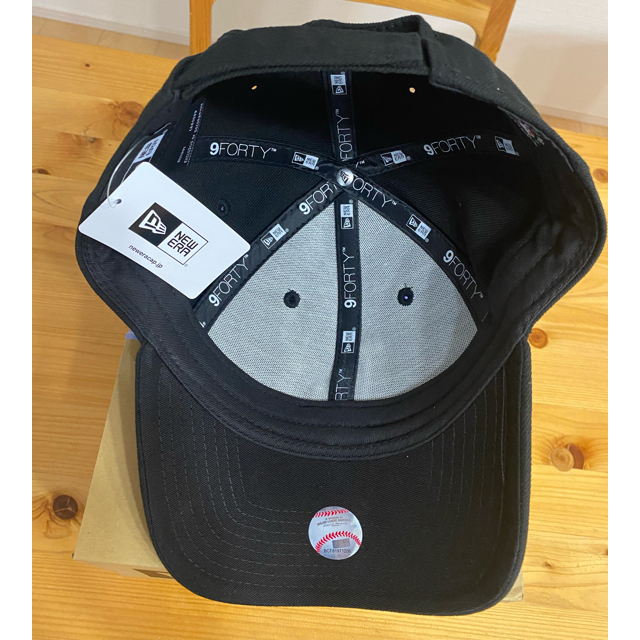 NEW ERA(ニューエラー)のNEWERA ニューエラ 9FORTY ドジャース ブラック 正規品 新品未使用 メンズの帽子(キャップ)の商品写真
