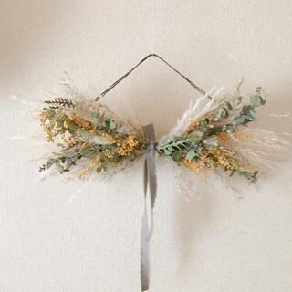 リボンスワッグ mimosa(ドライフラワー)