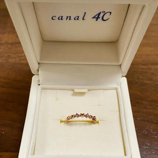 canal4℃ - canal4°C k10 ピンキー ファランジリング