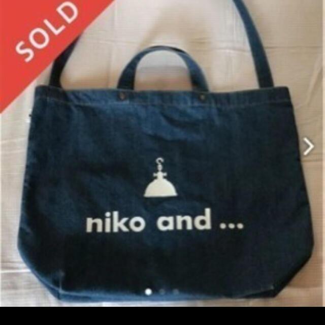 niko and...(ニコアンド)のト-トバック レディースのバッグ(トートバッグ)の商品写真