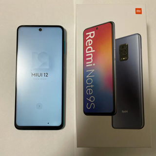 ANDROID - Xiaomi Redmi Note 9S 国内版SIMフリー