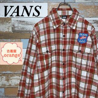 ヴァンズ(VANS)の【90s】VANS バンズ 長袖 チェックシャツ トップス ストリート(シャツ)