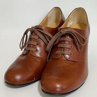 バークレー(BARCLAY)のBARCLAY 革靴 レースアップブーティー 24.5cm(ローファー/革靴)