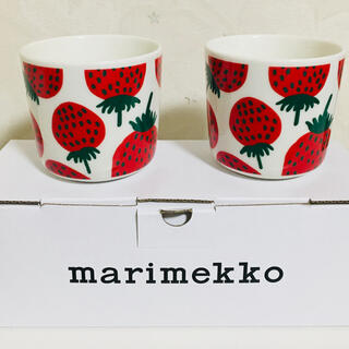 marimekko - マリメッコ マンシッカ柄カップ 2個セット