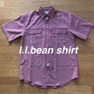 エルエルビーン(L.L.Bean)のl.l.bean エルエルビーン 半袖 シャツ ビンテージ(シャツ)
