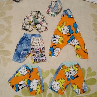 ディズニー(Disney)のハンドメイド品 ディズニー 子供服 80(その他)
