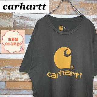 carhartt - 【90s】【人気】carhartt カーハート Tシャツ デカロゴ トップス