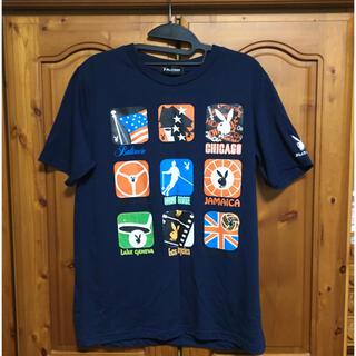 PLAYBOY - 【プレイボーイ】Tシャツ 濃紺 Mサイズ