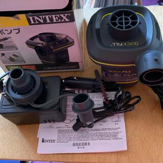 インデックス(INDEX)のINTEX   電動ポンプ(シングルベッド)