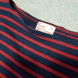 coen - COEN  ボーダーTシャツ