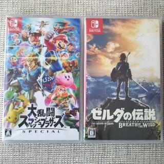 ニンテンドースイッチ(Nintendo Switch)の大乱闘スマッシュブラザーズ  ゼルダの伝説 ブレスオブザワイルド(家庭用ゲームソフト)